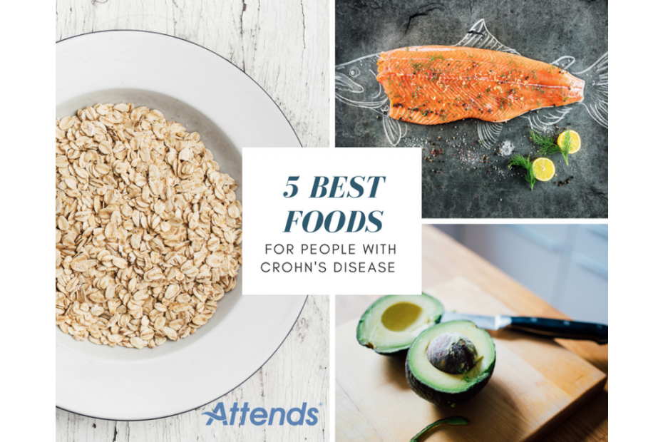 5 Best Foods for People with Crohn's Disease
