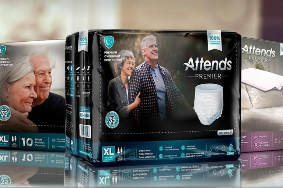 Domtar Personal Care Launches Attends® Premier – the Most Absorbent and Softest Products Ever Produced by Attends®